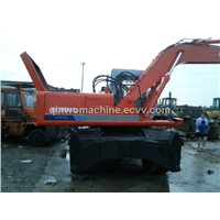 Used Hitachi  wheel excavator (ex160WD)