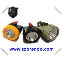 KL2.5LM  explosion proof 4000LUX mining light , miner cap lamp