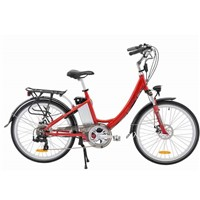 "26"" Alloy Ladies Electric City Bicycle"