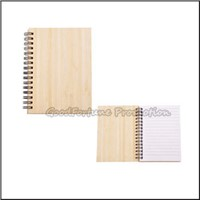 Promotion customed printed logo Eco bamboo memo pad notebook business gift