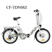 CF-TDN08Z 10AH Lithium Battery Folding Electric Bicycle