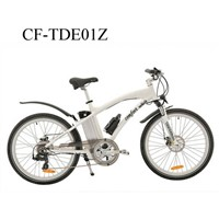 "26"" Aluminum Alloy electric mountain bike with 3 level PAS speed,power switch"