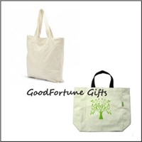 promotion cotton canvas shopping handbag tote bag gift Customed logo