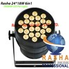 New 24pcs*15W 5in1 RGBAW LED PAR64 Can, Stage LED Par Can, Disco Light