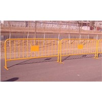 Epoxy Polyester Coating Power Crowd Control Fencing for Event
