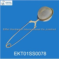 Stainless steel mesh tea ball infuser/filter clip(EKT01SS0078)