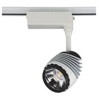 Epistar COB Gallery Led Track Lighting 30W rail light spot light shop light
