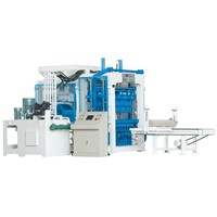 High Quality New Condition Concrete Block Making  Machine With CE Certification (QT10-15)