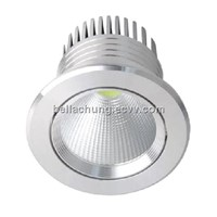 factory wholesale AC100-240V 12W Round LED recessed ceiling light