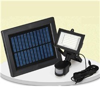 Energy Saving Powerful Outdoor Human Body Induction Garden 60 Led Solar Flood Light