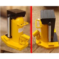 Lifting hydraulic jacks details
