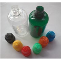 50ml Plastic PET Empty Bottle For E-liquid With Needle Dropper Childproof Cap For E-cigarette
