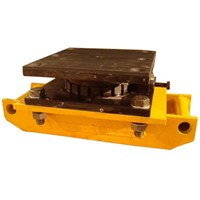 Roller with Swivel-Locking-Pad Top