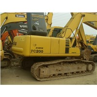Used Komatsu PC200 On sale(26000usd)