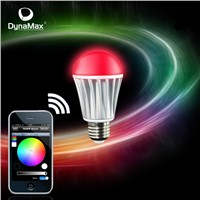 Smart LED Bulbs, Used in Home Wireless Automation Systems, Support Wi-Fi Control, iOS/Android