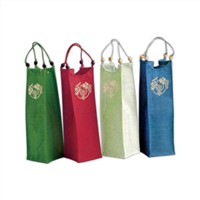 wine bags/cotton bags for gift/cotton bags cheap price