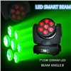 7*15w Osram Ostar 4 in 1 Rgbw LED Moving Beam Lights