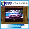 P6mm taxi roof led display/taxi top led display xxx bus video led open sign