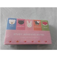 European cute stationery/creative cartoon notepad/printing mini sticky notes