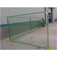 6ftx9.5ft Construction Visible Canada Temporary Fence Supplier