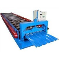 Glazed Color Steel Roof Tile Making Machine