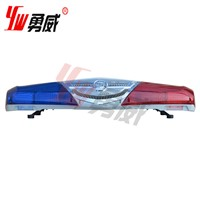 cheap led lightbars, siren and speaker can be choosed, red blue color