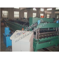 Automatic metal Roof Tile Roll Forming Machine cold roll forming equipment