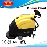 C510S floor cleaning scrubber with adjust handle