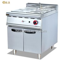 Free Standing Gas Bain Marie With Cabinet BY-GH984