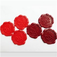 Plastic Wax Seals with customized design/logo