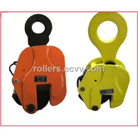 Vertical lifting clamps for lifting steel plates