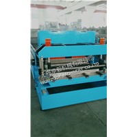 corrugated sheet Roof Tile Roll Forming Machine with Hydraulic Station 15m/min