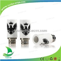 2014 fashion arrival drip tip Eagle Ceramic Drip Tips