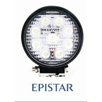 27w-R LED work light  off-road vehicles lights engineering vehicle