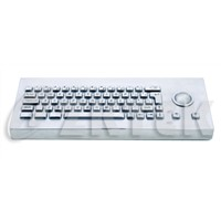 MDT2752 392.0mm x 150.0mm x 48.0mm desktop metal keyboard with trackball