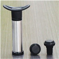 Plastic Pump with Two Vacuum Wine Stopper