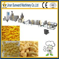 Puffed snack extrusion machines with CE made in china