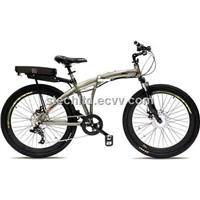 V3 Storm 36V 300W 8 Speed Folding Electric Bicycle - 9Ah Li Ion