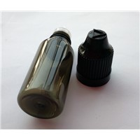 PET Needle Tip Dropper Bottle  For E-cigaret  Plastic Black E-liquid Bottle Childproof Cap Bottle