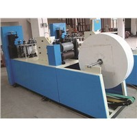 Paper napkin tissue folding machine