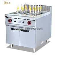 Free standing gas Noodle cooker /pasta cooker with cabinet BY-GH988