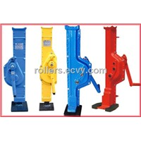 Hydraulic toe jack lift your equipment easily