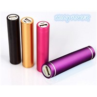 Menal tube power bank USB charger HLY-PB-004 18650 2000mAh / 2200mAh / 2600mAh / 2800mAh / 3000mAh