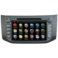 Ouchuangbo Nissan Sylphy B17 audio gps radio navigation android 4.2 system