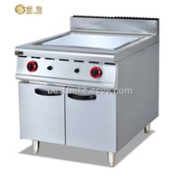Gas Griddle/Stainless Steel Gas Griddle(flat griddle) with Cabinet(BY-GH986D)