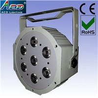 7*10W 4in1 rgbw/a high power mini led stage par can light