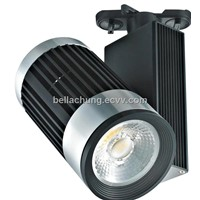 CE & Rohs approved Adjustable interior display 30w led track rail light