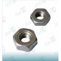 DIN 934 Hexagon Titanium Nuts , Polishing Auto Industry Wheel Nut