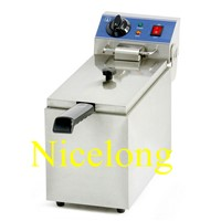 EF-081 8L single tank electric french chips fryer with CE