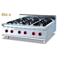 Stainless steel counter top cooking range BY-GH997-1